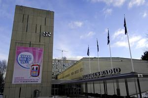 Sveriges Radio s P3 får kritik. Foto. Hasse Holmberg / TT