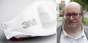Ken Swedenborg, Folkkampanjen för sjukvården, vill att både regionen och kommunerna börjar dela ut gratis munskydd i högsta skyddsklassen till allmänheten.