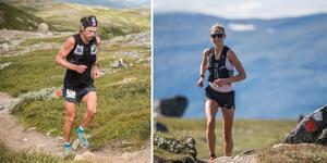 Storliens André Jonsson var 11 (!) sekunder från banrekordet, medan Duvedsbon Fanny Borgström med sina 3:59:49 blev första kvinna någonsin att springa i mål på under fyra timmar. Foto: Johannes Poignant.
