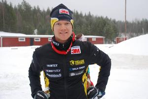 Dala-Flodas Jens Eriksson är anmäld och blir favorit i Skinnarloppet om han kommer till start. Foto: Hans Runeson.