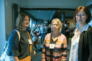 Susanne Wennman, Berit Bergström Törnqvist och Maria Gabrielsson, arbetar på intensiven och  är ansvariga donationssjuksköterskor på Akademiska sjukhuset i Uppsala .