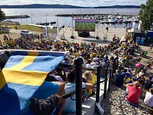 Foto: Ludvika kommun. En överblicksbild av evenemanget.