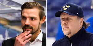 Kristoffer Ericson och Nizze Landén kan bli kollegor i Örebro Hockey i höst. Arkivfoto: Bildbyrån