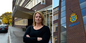 Veronica Andersson, tillförordnad chef vid utredningssektionen vid polisen.