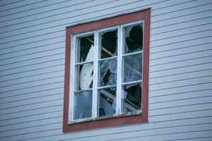 Explosionen blåste ut fönster i  den byggnad där det small.