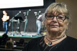 Britt-Marie Rosenqvist  tycker att samhället blir mer och mer tillgängligt.