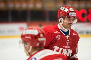 Alex Lavoie finns med i truppen igen. Kanadensaren har gjort två mål för Timrå IK sedan han värvades från Finland.