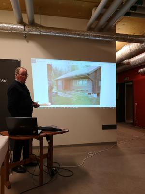 I ord och bild föreläste Ingvar Gustafsson om I5 och dess historia