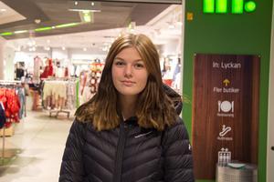 Malin Sundqvist, 15, studerande, Bydalen: