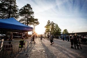 Folkparken i Grängesberg fylls för andra året i rad med besökare som älskar det mörkaste inom dödsmetall.
