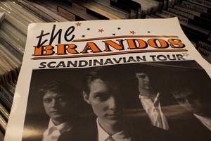 """The Brandos,  """"jättestora mellan 89 och 94"""".  – Jag ringde upp deras bokningsbolag och fick dem till Borlänge, säger Ingemar Magnusson."""