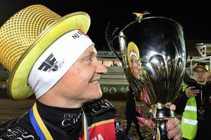 Det blev ännu ett SM-guld för Fredrik Lindgren. Det andra i rad.