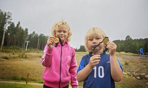 Elsa och Dag Björner tycker att dagens lopp gick bra.