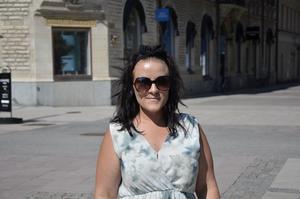 Maria Karlsson, 29 år, jobbar på stadshuset, Bergeforsen: