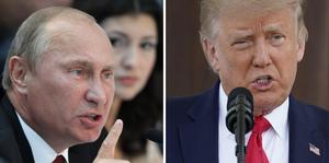 Insändaren hoppas att Trump och Putin blir vänner.