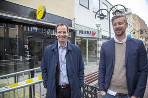 Härnösandshus Göran Albertsson och Emil Westerlind har stora planer för Prisma. Om två veckor presenteras det slutliga pusslet för vilka som flyttar in i gallerian.