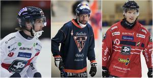 Tre riktiga stjärnor enligt Daniel Välitalo: Tuomas Määttä, Per Hellmyrs och Daniel Liw.
