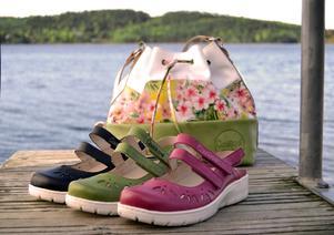 Skor från Cinnamons färgsprakande kollektion.Foto: Twosouls AB