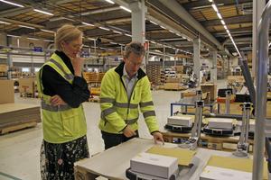 Åsa Eriksson och Joacim Einvall pratade bland annat om Brexit och risken för upptrappade handelskrig.