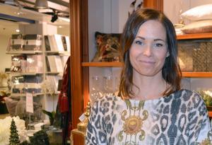 Matilda Rosell på Önskehuset är en av få handlare som tidningen talat med som är positivt inställd till Black Friday.