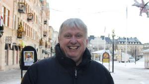 Roger Berggren, 61 år, nybliven pensionär och tidigare krogvakt, Sundvall.
