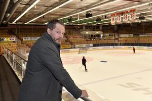Peter Iversen, målvaktstränare och med i Moras sportråd.