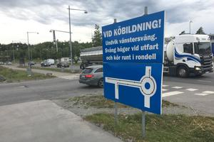 Utfarten mot Klastorpsvägen från Morabergs handelsområde ska byggas om.