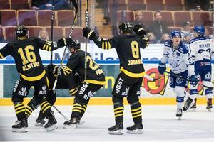 Jens Jakobs blev historisk när han sköt 2–0 till AIK. Sätersonen är numera tidernas allsvenska poängkung. Matchen vann hans AIK med 3–2.Foto: Daniel Eriksson/Bildbyrån (arkivbild)