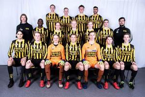 Friska Viljor U19 vann division 4 Ångermanland 2019. Bild: Friska Viljors hemsida