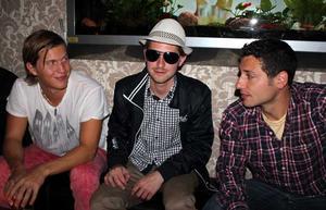 Tabazco. David, Joel och Victor