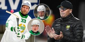 Lagkaptenen och liberon Carl-Johan Rutqvist är nyopererad. Samtidigt dras Felix Nyman med en långtidsskada och David Pizzoni Elfving har ljumskkänning. Bild: TT / Andreas Tagg