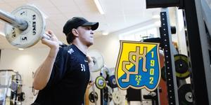 Fredrik Bergvik bildar målvaktspar med Alexander Sahlin i SSK nästa säsong. Foto: Bildbyrån