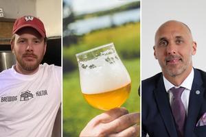 Daniel Norlindh vill se svensk gårdsförsäljning av öl, medan IOGT-NTO:s ordförande Johnny Mostacero menar att det riskerar folkhälsan och monopolet. Foto: Edis Potori/Samuel Somo