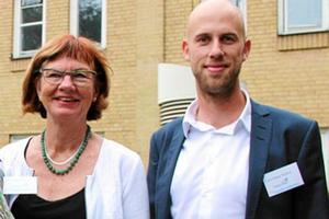 Ann-Britt Åsebol och Carl-Oskar Bohlin är tvåa och etta på Moderaterna i Dalarnas valsedel till Riksdagen.Foto: Kristina Vahlberg/Arkiv