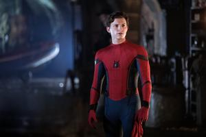 Tom Holland som Peter Park/Spindelmannen i