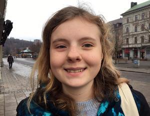 Sigrid Bergström, 17 år, studerande, Matfors