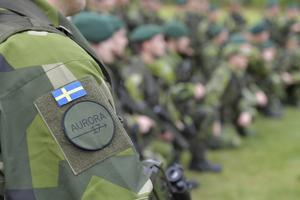 Är man inte militär ska man inte bära en uniform med gradbeteckning och förbandstillhörighet.