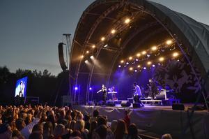 Artisten Petter lockade mycket folk till Sommarland live. Nu diskuterar ledningen om det blir en tredje sommar med konserter.