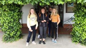 Elever och lärare från Gudmundråskolan har varit på en ny resa i Erasmusprojektet, den här gången till Puçol i Spanien.