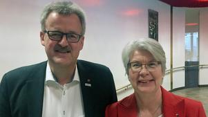 Bengt Bergqvist (S) och Ann-Marie Johansson (S).