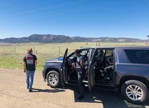 Stopp i Colorado. Foto: Privat