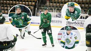 Simon Åkerström, Oskar Stål-Lyrenäs, Lukas Ericsson och Simon Backman är tillbaka för Björklöven.