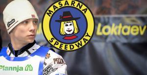 Aleksandr Loktaev gör debut för Masarna på tisdag. Foto: Mikael Fritzon/TT