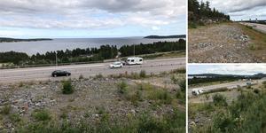 Nya E4 söder om Sundsvall erbjuder en av landets kanske finaste utsiktspunkter. Men avstickaren är avstängd för trafikanter sedan flera år och håller på att växa igen, skriver debattförfattaren.