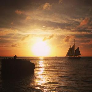 Mallory Square, Key West, Florida. Karibien tillsammans med Florida bjuder på många upplevelser som exempelvis kryssningar bland de många öarna för soltörstande svenskar. Foto: Maria Gertell, Ticket