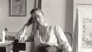 Hilma af Klint var länge helt osynlig inom konsthistorien. Nu börjar hon få en ny status som en pionjär inom abstrakt konst. Pressbild.Foto: Folkets bio