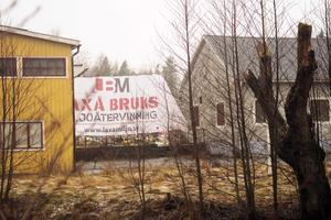 Laxå Bruks miljöåtervinning ligger på bruksområdet i Röfors.