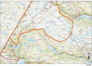 Området på kartan inrättas till ett tillfälligt naturreservat i tre år. Det ger i sin tur en smidig möjlighet att nu utlysa ett tillträdesförbud månaden ut.