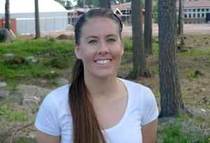 Megan Howard från Florida är central mittfältare.