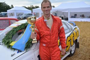 Lars Svensson vann Klass 1 båda dagarna i Arboga. Nu utmanar han på allvar i kampen om SM-titeln.